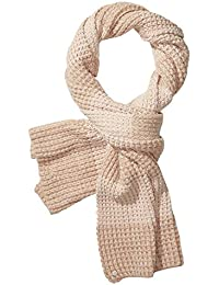 Maison Scotch Damen Schal Wooly Mele Knitted Scarf 134104 Atlas Pink Mele One size
