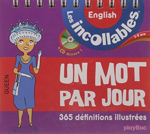 Incollables - Un mot par jour anglais 7-9 ans par Collectif