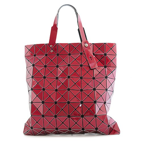 vari color SHOPPING BAG BORSA DA DONNA ALLA SPALLA TRASFORMABILE 70690 Bordeaux