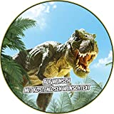 Tortenaufleger Geburtstag Tortenbild Zuckerbild Oblate Motiv: Dino Dinosaurier (Zuckerpapier)