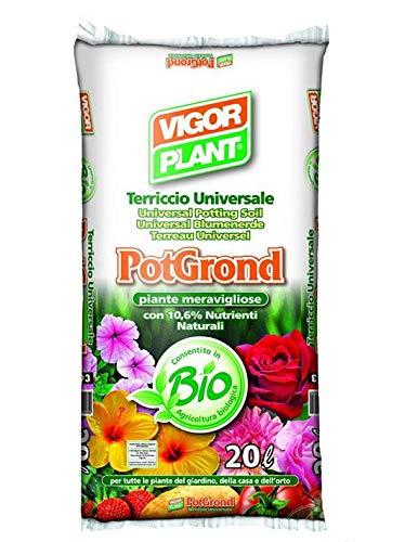 Geosism & Nature Terriccio Universale (Pot Grond - Vigor Plant) (Pallet da 42 Sacchi da 80 lt)