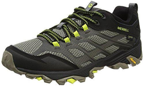 Merrell J37601, Zapatillas de Senderismo Hombre, Verde (Olive Black), 42 EU