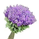 Lavande de fleurs artificielles bouquet de mariage Photographie Props - violet clair