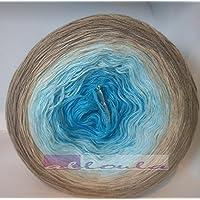 *alloula* Bobbel Farbverlaufsgarn, 3-fädig, verschiedene Längen wählbar