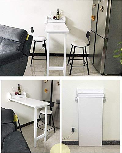 Mesas plegables de pared: una idea innovadora para tus espacios