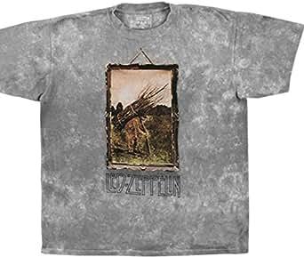 Led Zeppelin - Stickman(T-Shirt Schwarz)Led Zeppelin Shirt ! Batik T-Shirt (L(Large))