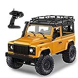 Goolsky MN-D90 Rock Crawler 1/12 4WD 2.4G Telecomando ad Alta velocitš€ off Road Truck RC Auto ha Condotto la Luce RTR