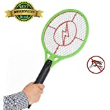 Teconica Mosquito Killer Bat Rechargeable Electronic Racket Zapper Swatter Bug Insect FLY