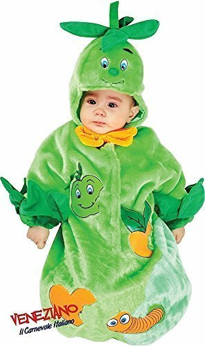 Hergestellt In Italien Baby Jungen Mädchen grün Apple of My Eye Schlafsack Sack Nursey Betten Fancy Kleid Kostüm Outfit 0–3Monate (Kleid Grünes Apple)