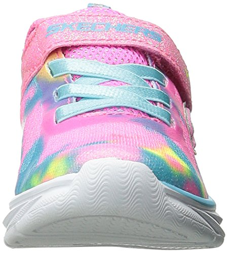 Skechers Pepsters, Scarpe da Ginnastica Basse da Bambine e Ragazze Rosa (Light Pink/Multi)