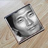 Seasons DANIEL DAE KIM - Original Art Coaster #js004