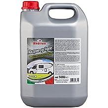 Rhutten 180293 Liquido Chimico Akque Grigie 5 Litri
