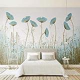 YUANLINGWEI 3D Wandbild Moderne Einfache Blumen Wandbilder Wohnzimmer Schlafzimmer Restaurant Wand Seidenpapier,170cm (H) X 250cm (W)