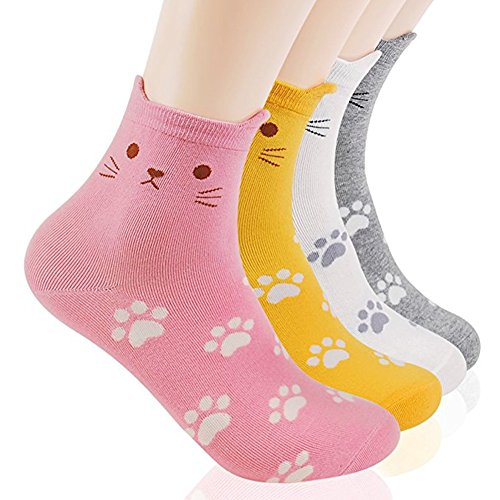 Halloween Sock Monkey (Ksocks Damen Socken Cute Cat Set One size Gr. One size, Cats Foot)