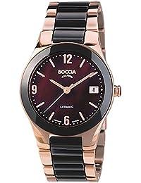 Boccia Damen-Armbanduhr Analog Quarz Keramik 3189-04