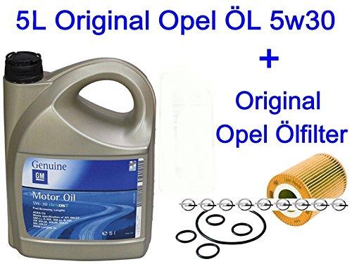 Preisvergleich Produktbild 5L Original Opel Motoröl 5w30 DEXOS2