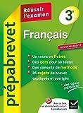 Prepabrevet Reussir L'Examen: Francais 3e (French Edition) by Christine Formond Louise Taquechel(2012-08-10)