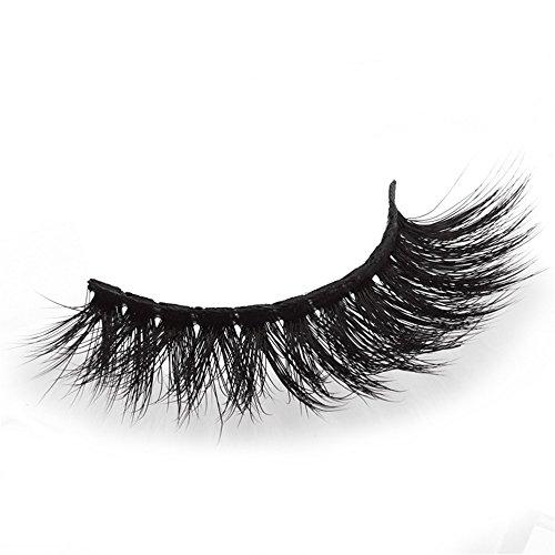 Wimpern 3D Falsche Wimpern Synthetische Fasern Natürliche Ultra Dünn Wimpern Magnet Wimpern Magnetisch Wimpern Sets Makeup Sets Wimpernverlängerung Wiederverwendbare ()