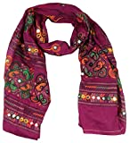 Rajasthan Textiles Women's Stole (Purple...