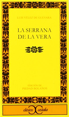 La serrana de la Vera                                                           . (CLASICOS CASTALIA. C/C.) por Piedad Bolanos epub
