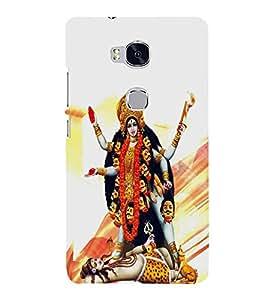 PrintVisa Jai Maa Kali 3D Hard Polycarbonate Designer Back Case Cover for Huawei Honor 5X :: Huawei Honor X5 :: Huawei Honor GR5
