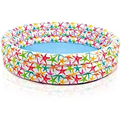 Intex - Piscina hinchable Intex 3 aros con estrellas 168x38cm - 581l - 56440NP