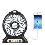 Ventilador de mesa , COO mini ventilador USB ventilador Portátil ideal para...