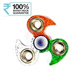 Meya Happy Meya Happy Indian Flag Tri Colour Print Fidget Metal Hand Spinner
