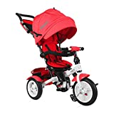 Lorelli Neo Dreirad Baby/Kinder mit ROUES GONFLABLES rot