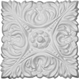 Ekena Millwork ROS07X07AC 6 1/8-Inch W X 6 1/8-Inch H X 3/4-Inch P Acanthus Leaf with Beads Rosette by Ekena Millwork