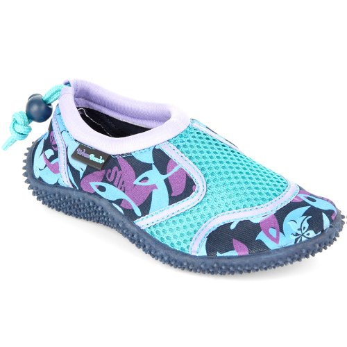 Urban Beach FW646 Girls Camo, Scarpe da immersione bambine Blu (blu)