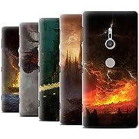 Offiziell Chris Cold Hülle / Case für Sony Xperia XZ2 / Pack 8pcs Muster / Gefallene Erde Kollektion