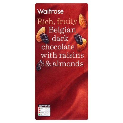 belgian-plain-chocolate-with-fruit-nut-waitrose-8x200g