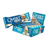 Quest Nutrition Vanilla Caramel Hero Protein Bar, Low Carb, Gluten, Soy, 10 Count