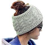 Sealike Korean Fashion Wool Knit Knit Crochet Flora Twist Style Headband Head Wrap Hat Cap For Women Lady Girls...
