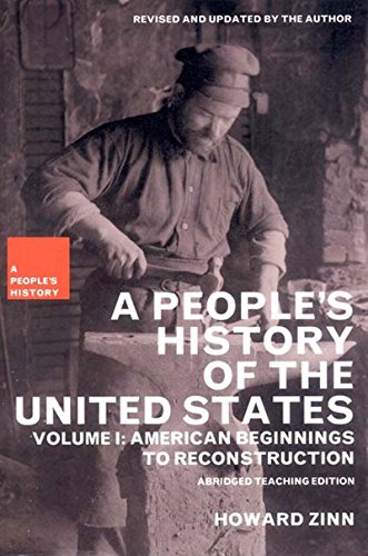 A People's History of the United States: American Beginnings to Reconstruction: 1 por Howard Zinn
