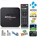 #10: Happytech PRO W Android 7.1 TV BOX 1GB RAM/8GB ROM Amlogic S905W 64 Bit Quad Core Wi-Fi UHD 4K 1080P Smart TV Set Top Box