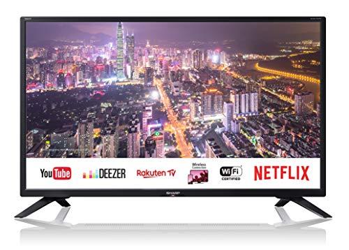 SHARP LC-32HI5432E HD Ready Smart LED TV 81 cm (32 Zoll), Active Motion 200, Triple Tuner Sharp Hd Ready Tv