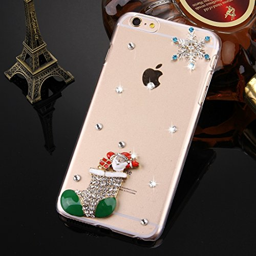 GHC Cases & Covers, Fevelove für iPhone 6 & 6s Diamond verkrustete Sonnenblume Perle Bell Pattern PC Schutzhülle Back Cover ( SKU : IP6G2010M ) IP6G2010J