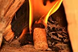 430° Öko-Anzünder - 3kg ca. 300 Stk. - Kaminanzünder Ofenanzünder Grillanzünder Brennholzanzünder Feueranzünder Bioanzünder - Holz & Wachs