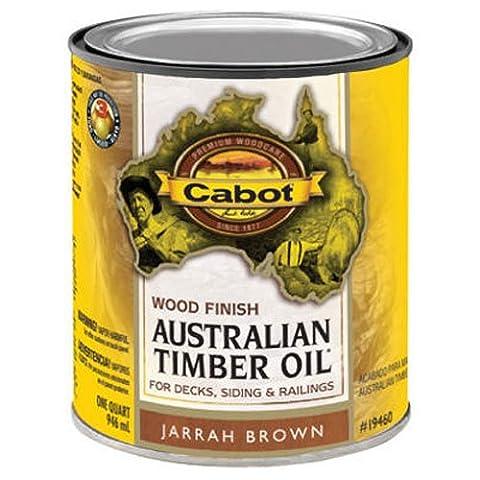 CABOT SAMUEL INC - Jarrah Brown Australian Timber Oil Wood