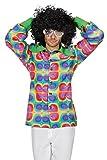 Wilbers Hippie Kostüm Herren Hemd Flower Power 70er 60er