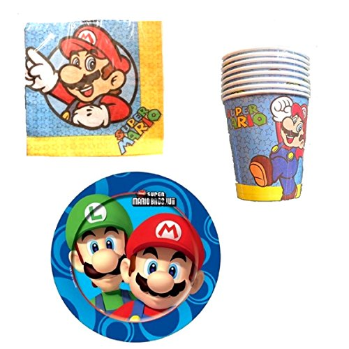 HL-Grosshandel Nintendo New Super Mario Bros. - Party Set 48-teilig
