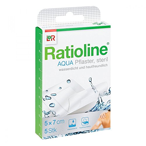 duschpflaster apotheke Ratioline aqua Duschpflaster Plus 5x7 cm steril 5 stk
