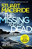 Front cover for the book The Missing and the Dead (Logan McRae, Book 9) by Stuart MacBride