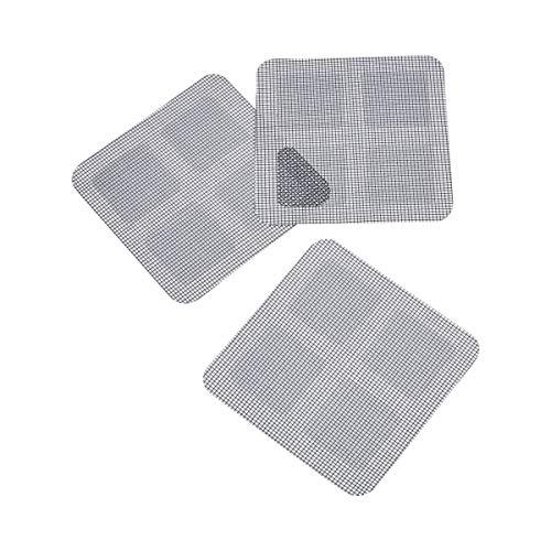 Fliegengitter-Patch, 3 Stück, Fliefengitter-Flicker Reparatur-Patches repariert Löcher-Flicker Insekten-Schutz Fliegenvorhang Netz-Reparatur
