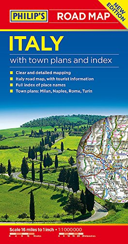 Philip's Italy Road Map (Philips Road Maps)