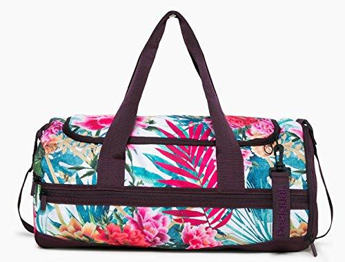 Desigual Tropic Tube Shoulder Bag Blanco
