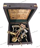 Maritime Museum Store J. Scott London Messing-Schiffsextant in Hartholz-Box. C-3082