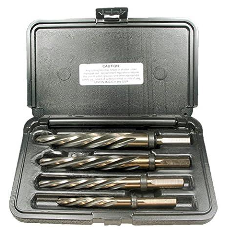 Viking Drill and Tool 12270 CR-4SP 4 piece Set Type 50-UB Standard Flute Magnum Super Premium Car